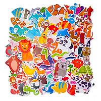 Set 100 Sticker hình dán - Animals