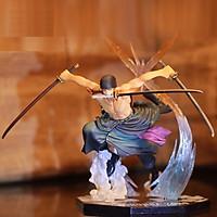 Mô hình nhân vật thợ săn hải tặc Roronoa Zoro -  tam kiếm phái - Đảo hải tặc One Piece