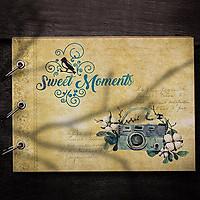 Album Ảnh Tự Trang Trí Sweet Moments (19 x 26 cm)