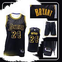 Bộ quần áo NBA Jersey Los Angeles Lakers - Kobe Đen