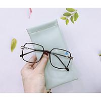 Gọng kính cận nữ MẮT KÍNH XANH mắt kính vuông đa màu sắc