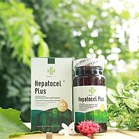 Thực phẩm chức năng - Thảo dược tăng cường chức năng gan, hỗ trợ các bệnh về gan (viêm gan B, C, cao men gan, gan nhiễm mỡ) - Teresa Herbs Hepatocel Plus 90 Caps Nutraceutical Supplement
