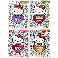 Bộ Sách Hello Kitty - Bộ Sưu Tập 1000 Đề Can (Bộ 4 Cuốn)