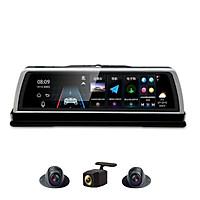 Camera hành trình đặt taplo ô tô cao cấp K600 tích hợp 4 camera, phát wifi trên xe nhờ tích hợp 4G LTE, định vị GPS - Hàng nhập khẩu