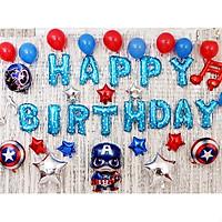Sét bóng trang trí sinh nhật siêu nhân PKS