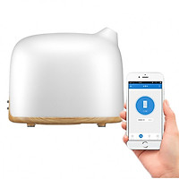Máy khuếch tán tinh dầu điều khiển bằng điện thoại thông minh (voi trắng)