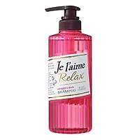 Dầu Gội Cho Tóc Xoăn Tự Nhiên Kosé Cosmeport Je L'aime Relax Shampoo Straight & Sleek (500ml)