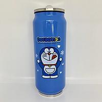 Bình giữ nhiệt cao cấp hình lon nước 470ml Hình Doremon - Hàng nhập khẩu