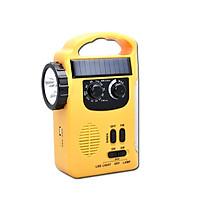 Đèn Pin Radio Quay Bằng Tay Năng Lượng Mặt Trời - Chính hãng