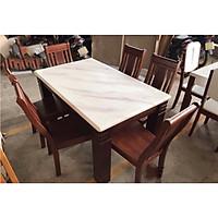 Bộ bàn ăn 6 ghế nhập khẩu HTP-BA 22