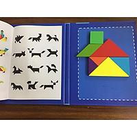 Đồ chơi trí tuệ - Ghép hình Tangram bóng hình- Rèn luyện tư duy, logic