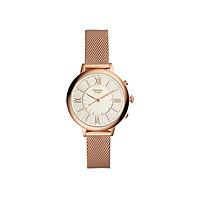 Đồng hồ thông minh nữ Fossil Hybrid Smartwatch Jacqueline dây thép không gỉ FTW5018 - màu rose gold
