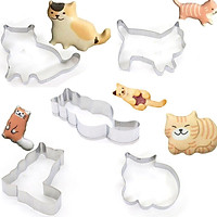 Cat Biscuit Mould Stainless Steel Material Fondant Modeling Tool