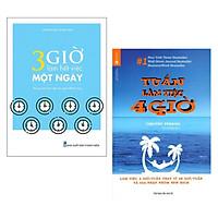 Combo Sách Kỹ Năng Làm Việc Hiệu Quả: 3 Giờ Làm Việc Hết Việc Một Ngày - Phong Cách Làm Việc Của Người Thành Công + Tuần Làm Việc 4 Giờ (Tái Bản) / Rèn Luyện Thói Quen Tốt - Nâng Cao Hiệu Quả Công Việc