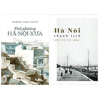 Combo 2 cuốn địa danh-du lịch: Hà Nội Thanh Lịch + Phố Phường Hà Nội Xưa