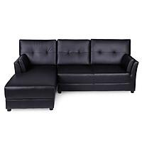 Sofa Chữ L Góc Phải H-Donald/P Juno Sofa - Nâu Đen (225 x 164 cm)
