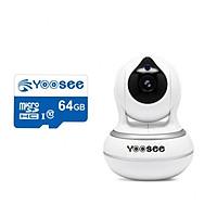 Camera WIFI Yoosee AI 2.0 kèm thẻ 64gb - Sử dụng trong nhà không râu HD FULL màn hình siêu nét - Hàng nhập khẩu