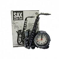 Đồng Hồ Hình Kèn Saxophone trang trí decor bàn làm việc tặng kèm pin