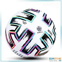 Quả banh bóng đá Euro 2020 Đúc Nguyên Khối Cao Cấp - Da PU cực bền