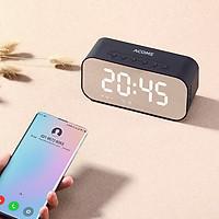 Loa Bluetooth Mặt Gương Kiêm Đồng Hồ Báo Thức A5 5W Màn Hình LED  - Hỗ Trợ Thẻ Nhớ & Nghe FM Bảo Hành Chính Hãng 12 Tháng