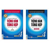 Combo Tiếng Hàn Tổng Hợp Dành Cho Người Việt Nam - Trung Cấp 4 (Phiên Bản Mới In Màu / Sách Gíao Khoa + Sách Bài Tập)