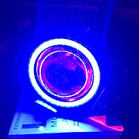 Đèn bi cầu U7 (có viền đèn LED) cực sáng, dễ dàng lắp đặt cho ô tô, xe máy A88