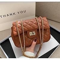 Túi xách nữ đeo chéo da mềm trần trám giá rẻ BAG U TD18