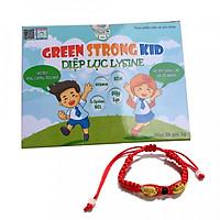 Thực phẩm chức năng bảo vệ sức khỏe Diệp lục lysine ( Diệp lục kid - Green strong kid) + Tặng kèm vòng tay Phong Thủy Cực Chất