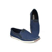 Giày lười vải khâu siêu bền thời trang nam Rozalo R4520