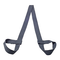 Cotton Yoga Mat Strap Pilates Mat Carrier Fitness Stretchy Loop Black