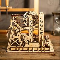 Đồ chơi Lắp ráp gỗ 3D Mô hình Cơ động học Magic Crush - Marble Run Lift Coaster LG503