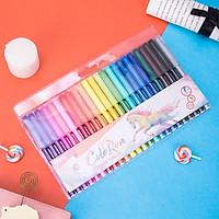 Bút màu nước 1.0mm Deli, 12 màu/18 màu/hộp - EC10003/EC10013