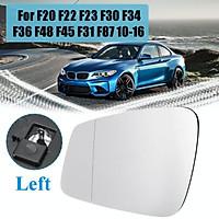 Left Wide Angle Heated Mirror Glass For BMW F20 F22 F23 F30 F34 F36 F48 F45 F31