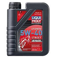 Nhớt Liqui moly Street Race 5W40 dành cho xe số và xe côn