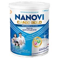 Sữa bột Nanovi Canxi Gold dinh dưỡng dành cho người lớn