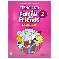 Tiếng Anh 2 - Family And Friends (National Edition) - Workbook