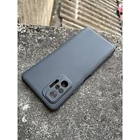 Ốp lưng dẻo cho Xiaomi Redmi Note 10, Note 10S, Note 10 Pro (đen) bảo vệ Camera