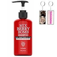 Dầu gội phục hồi hư tổn Enesti Mix Berry Shampoo Hàn Quốc 250ml + Tặng móc khoá