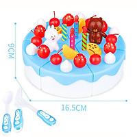 Bộ đồ chơi bánh kem sinh nhật cao cấp 39 chi tiết bằng nhựa PE an toàn cho bé yêu – DC020