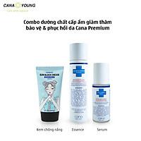 Combo dưỡng chất cấp ẩm giảm thâm bảo vệ & phục hồi da Cana Premium