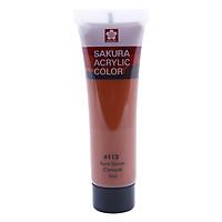 Tuýp Màu Vẽ Vải Acrylic Color Sakura -XAC20Ml
