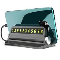 Bảng số kiêm giá đỡ điện thoại trên taplo ô tô, xe hơi bền đẹp BSDT-Z1