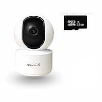 Camera IP wifi robot Vantech V2010C 4.0 - Hàng Chính Hãng (Tặng kèm thẻ nhớ 32Gb)