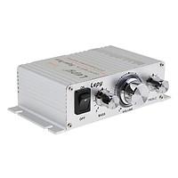 HiFi Stereo Amplifier Class D Amplifier 2x15W DC 12V for Car Home