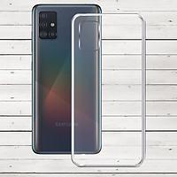 Ốp lưng cho Samsung Galaxy A51 - 01259 - Ốp dẻo trong - Hàng Chính Hãng