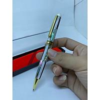 Bút ký cao cấp làm từ Ôc biển và vỏ bào ngư 7 sắc màu - nắp xoáy - nhiều màu