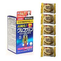 Thực phẩm Hỗ trợ xương khớp Viên uống Glucosamine 1500mg Nhật Bản 900 viên ( Orihiro Hight Pure Glucosamin Tablets ) – Tặng 05 bánh quy Nhật Bản hiệu Aee