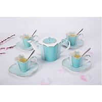 Bộ trà chiều màu xanh 13 món 2466
