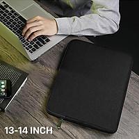 Túi Chống Sốc BUBM MacBook & Laptop, Dùng Cho Máy Từ 13 ~ 16 inch, Túi Bảo Vệ Laptop Siêu Mỏng, Túi Đựng Máy Tính Xách Tay Chất Liệu Vải Chống Thấm Nước & Va Đập