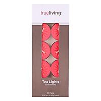Hộp 10 Nến Tealight Trueliving FtraMart Candle (Đỏ)